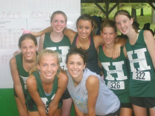 My HHXC team in 2006! Go Hillers!