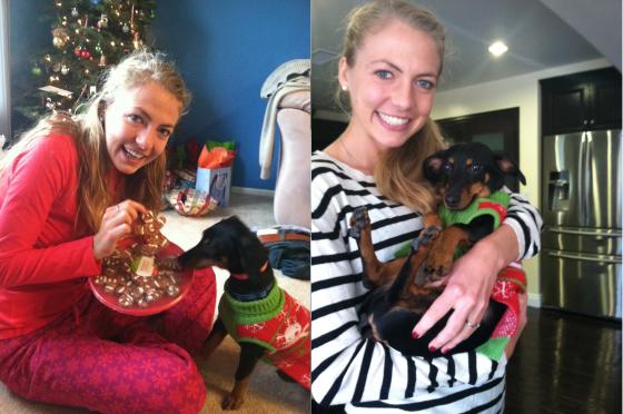 Me and Finn Christmas 2012