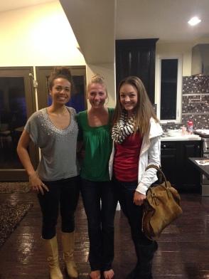 Aneasha, Hayley, and Me