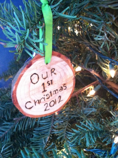 Our 1st Tree Ornament