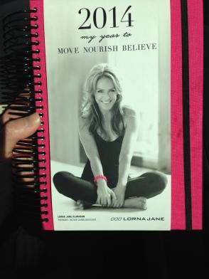 Move Nourish Believe journal