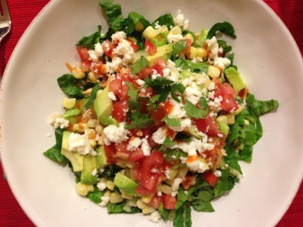 Chicken Salsa Salad
