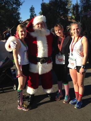 Santa Run - with Santa