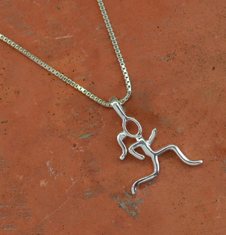 Running Girl Necklace