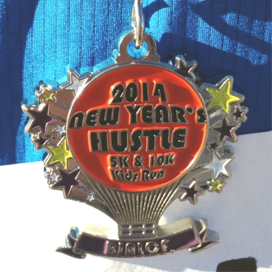 New Year's Hustle Medal